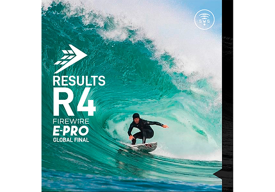 THE OFFICIAL RESULTS OF MEN'S ROUND 4 OF FIREWIRE E-PRO GLOBAL FINAL