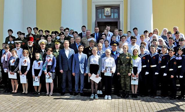 Приём школьников в Георгиевские классы в Тургиново