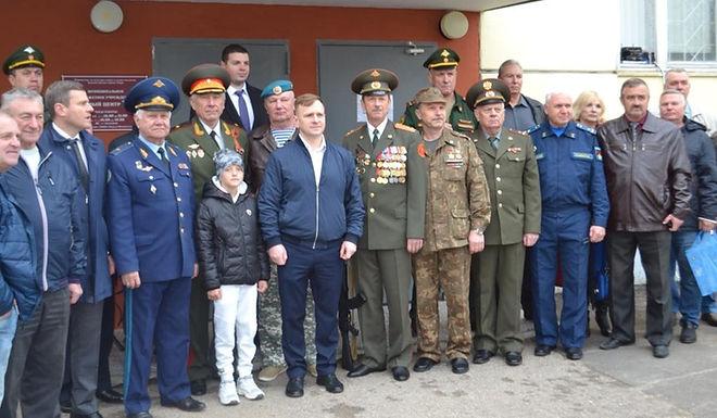 Открытие  «Комнаты воинской славы» в микрорайоне Мамулино
