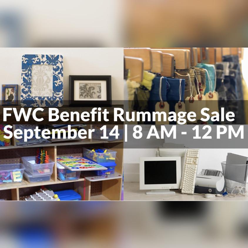 FWC Benefit Yard Sale