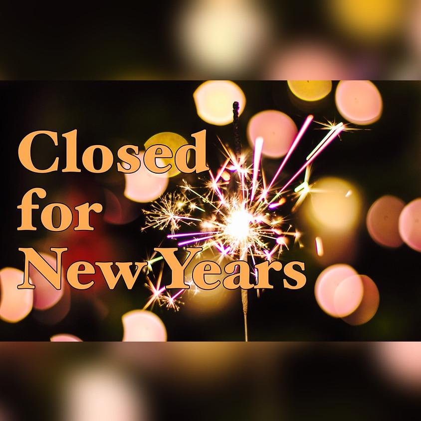 Church Office Closed 12/31 - 1/3