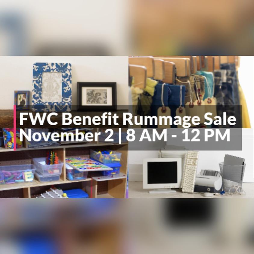FWC Benefit Rummage Sale
