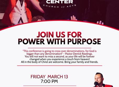 power with purpose tour
