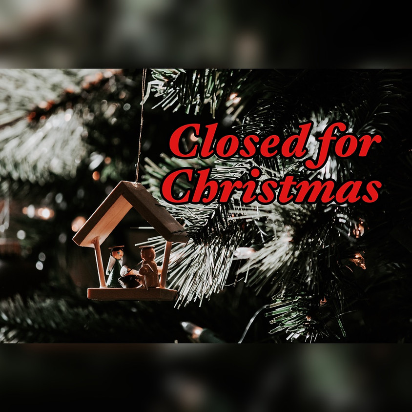 Church Office Closed 12/25 & 12/26