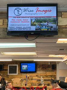 Digital TV ads Champions Barber Studio Clermont FL