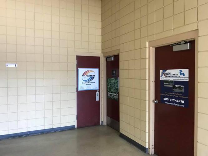 Midland Fair Gerstacker building ads