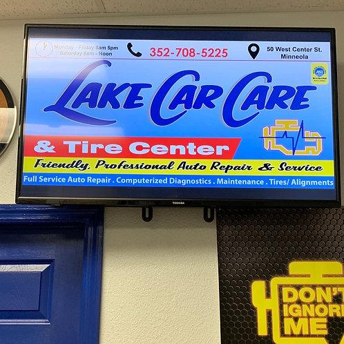 Digital TV Display Ads