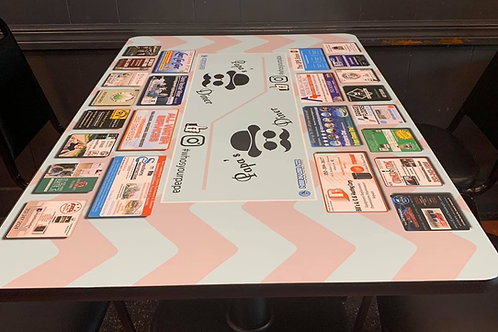 Papa's Diner Table Top Ads