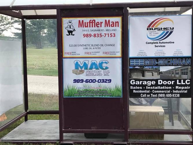 Midland fair entrance