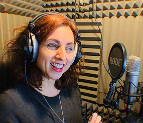 Joanna Voice Over Booth - UK Voiceover Artist