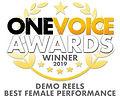 One Voice Awards - Winner 2019