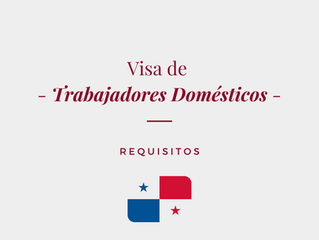 Visa de Trabajadores Domésticos