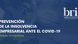 Prevención de la Insolvencia Empresarial ante el Covid-19