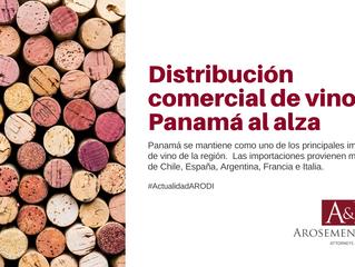 Importación de Vinos en Panamá al alza
