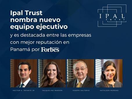 Ipal Trust nombra nuevo equipo ejecutivo