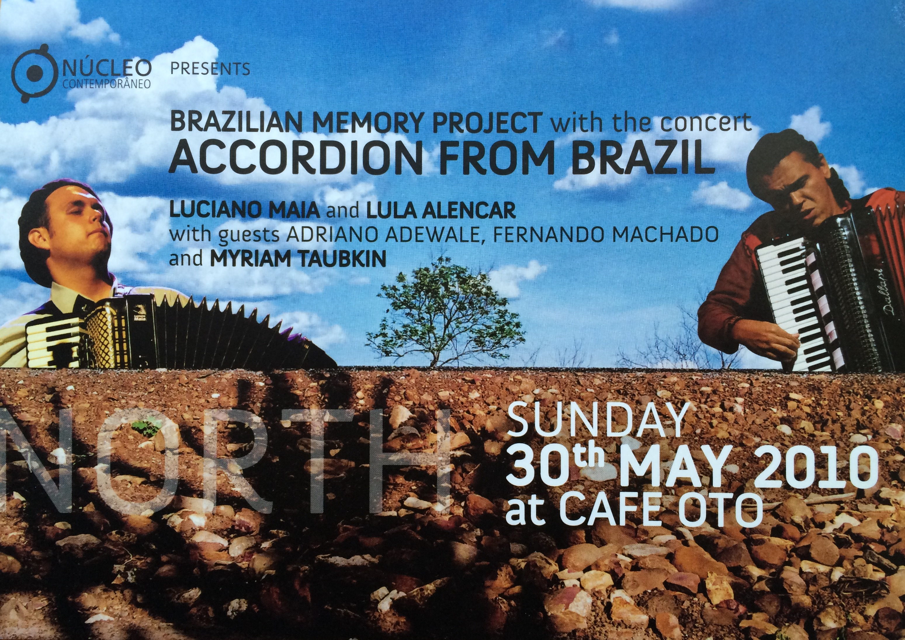 Flyer - Accordion from Brazil