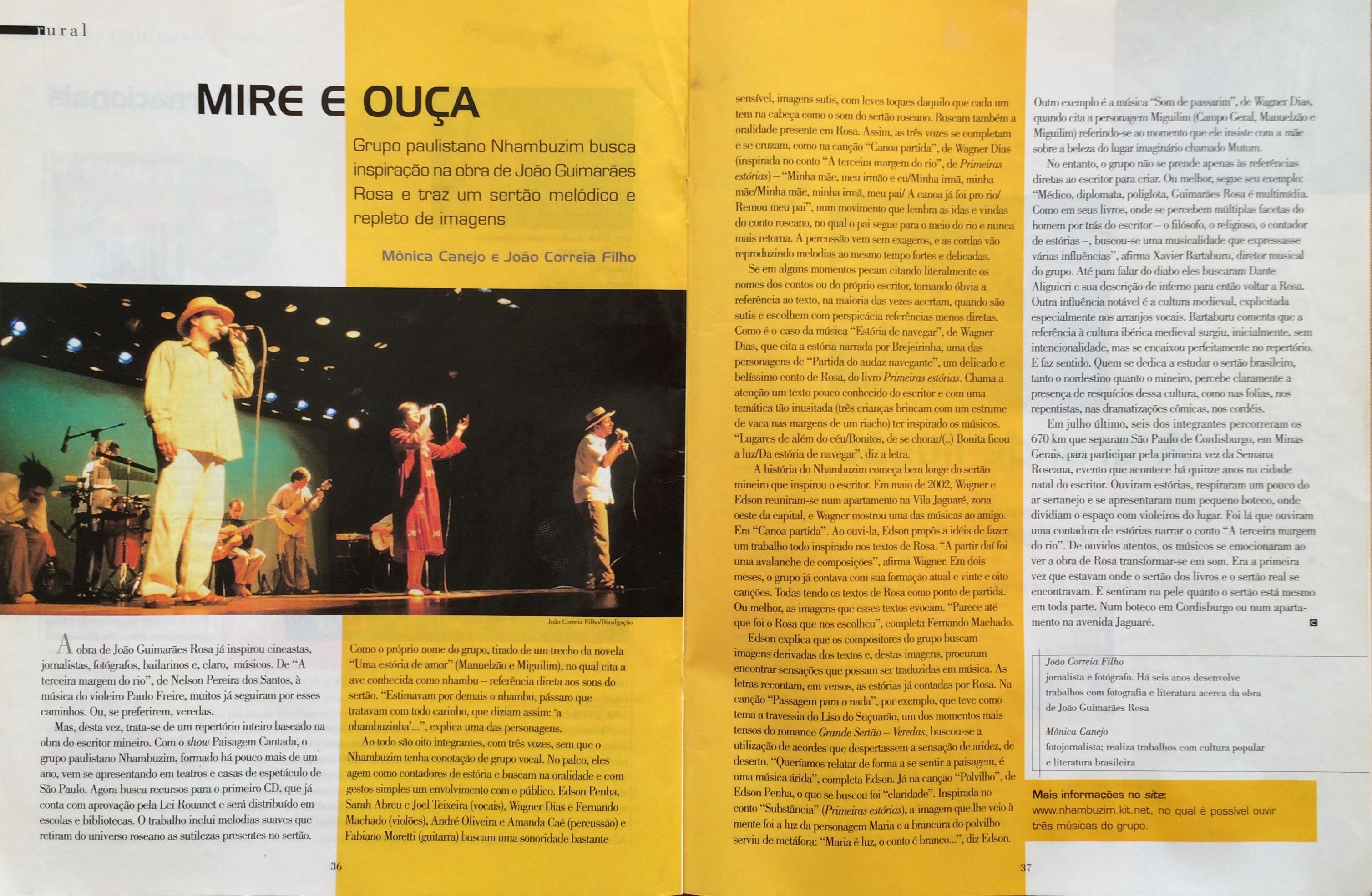 Revista CULT - 04/2004