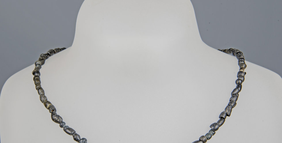 Necklace with Roman banded glass beads