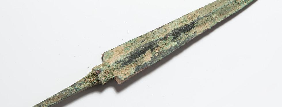 Luristan bronze arrowhead