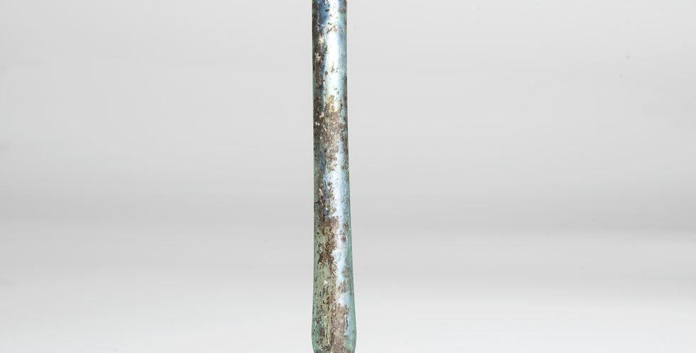 Roman candlestick glass unguentarium