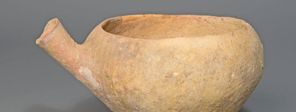 Early Bronze Age Palestine spouted vessel