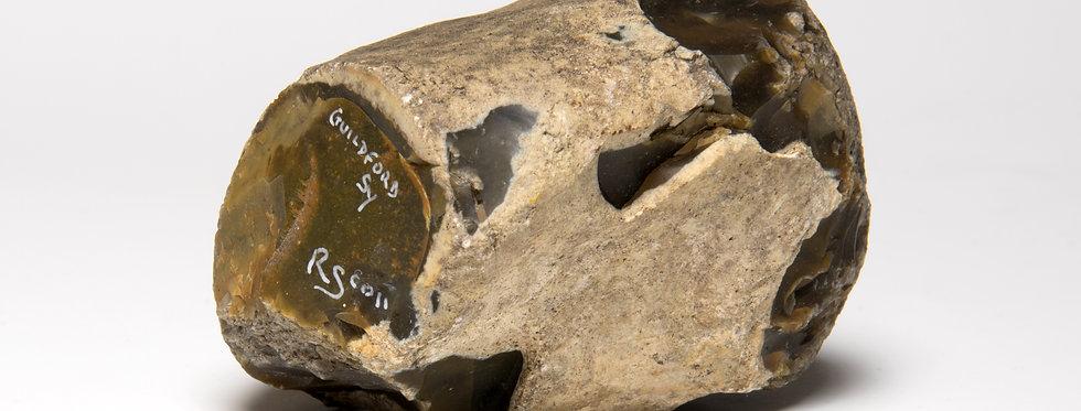 British Stone Age hammer tool