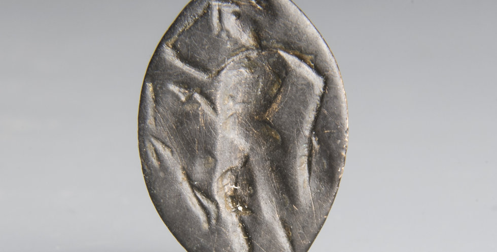 Greek ring with youth