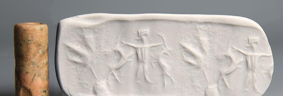 Achaemenid cylinder seal: Circa 5th century BC