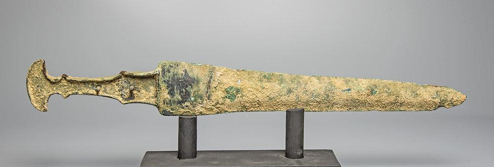 Luristan bronze short-sword