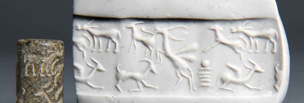 Urartu cylinder seal with animals