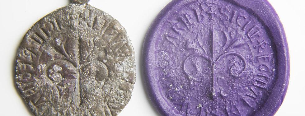 British Medieval personal lead seal