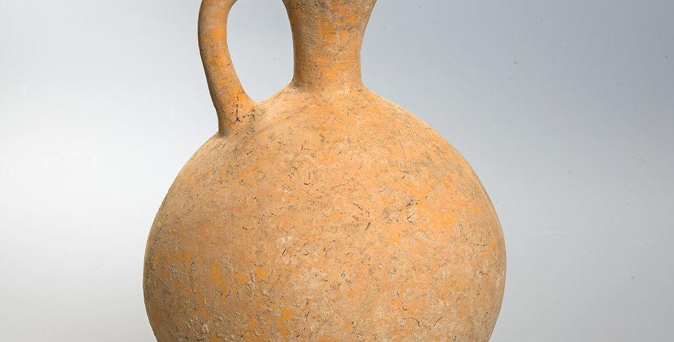 Amlash Pottery Iron-Age Tall Pitcher