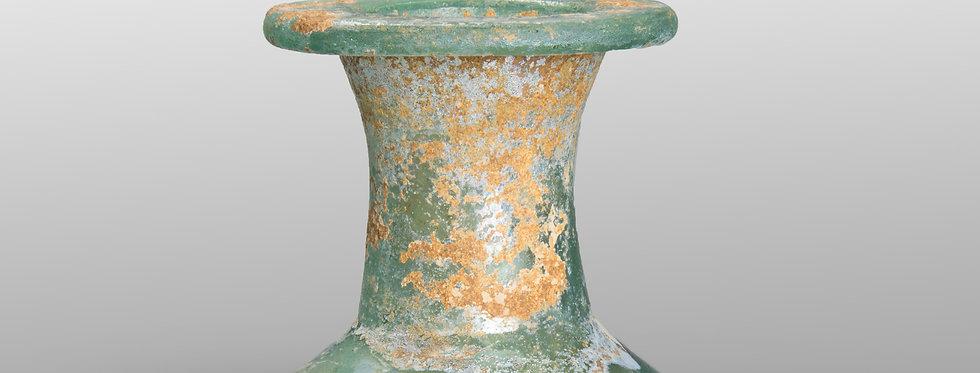 Romano-Egyptian 'Cotton Reel' unguentarium