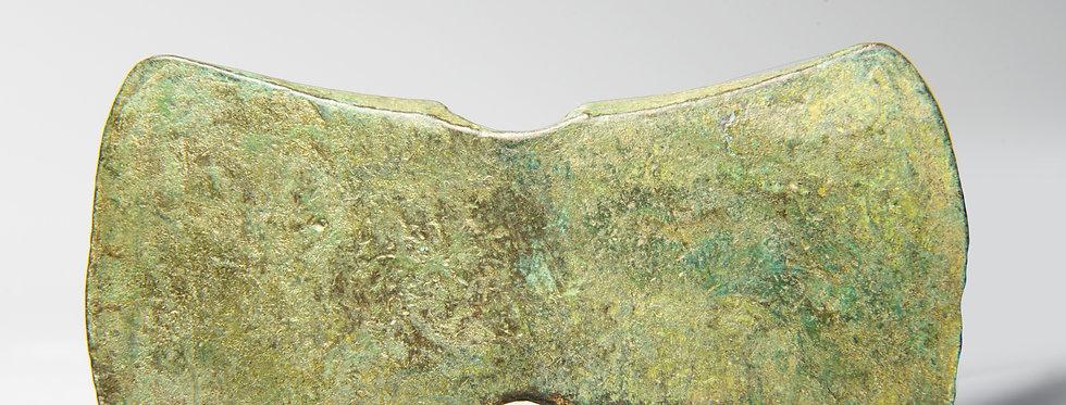 Minoan Late Bronze Age votive axehead