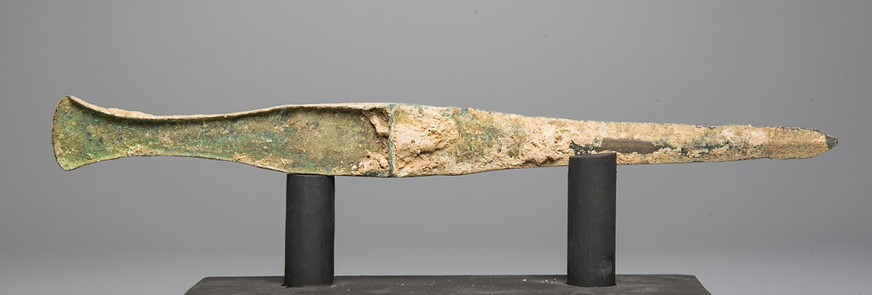 Luristan Iron-age weaponry bronze dirk
