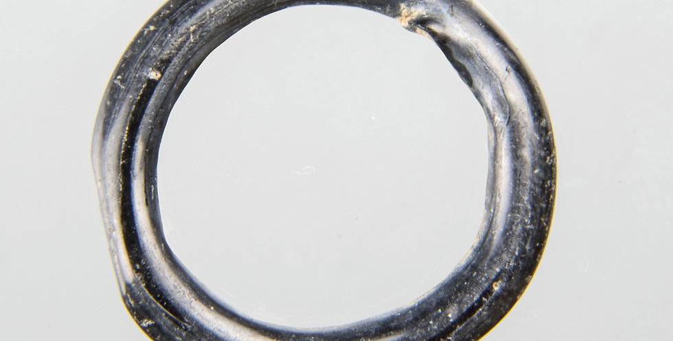 Roman blue glass ring