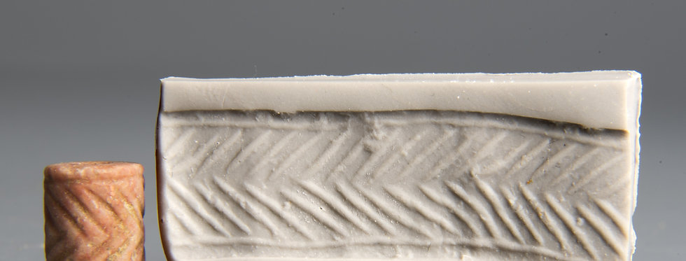 Provenanced Jemdet Nasr cylinder seal: Circa 3000 BC