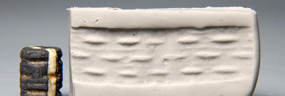 Jemdet Nasr cylinder seal: Circa 3000 BC