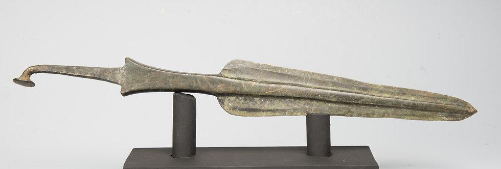 Luristan large bronze spearhead