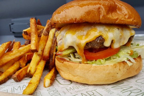 Simple Cheese Burger