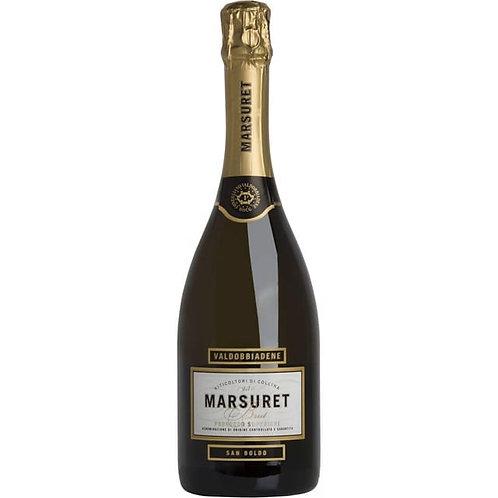 Valdobbiadene Prosecco Superiore DOCG Brut San Boldo - 75 cl - Cantina Marsuret