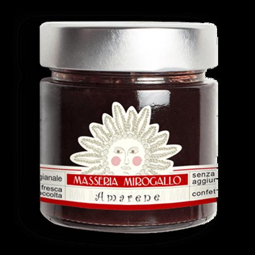 Masseria Mirogallo confettura extra amarene 250 g