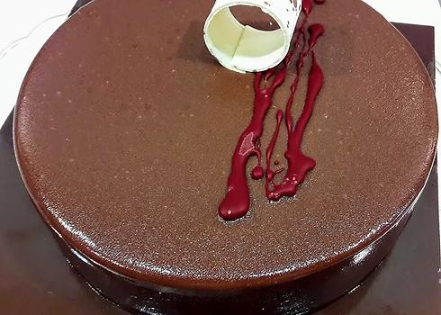 Torta mousse au chocolat