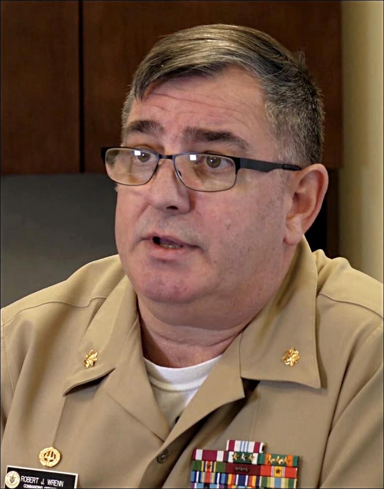 Commander Robert J. Wrenn, USN