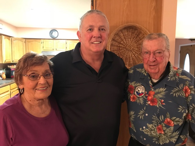 Frank and Pat Emond with Warren