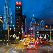City Hubbub  12x16