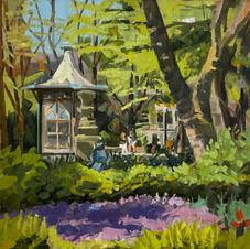 Purple Phlox at Rittenhouse 10x10