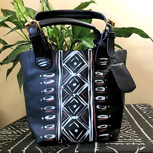 Warrior's Belt  | 2-in-1 Mini Tote Purse | Black