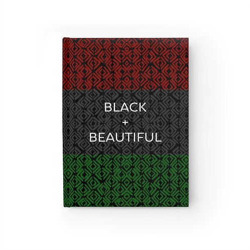 Black + Beautiful Journal - Wide Ruled Line