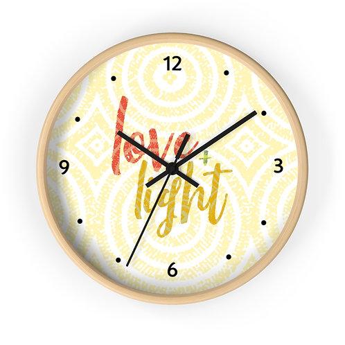 Love & Light Wall clock